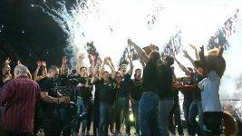 Návrat vítězného házenkářského týmu do Německa