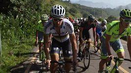 Peter Sagan na obhlídce trati v Riu