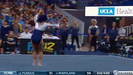 Sestava americké gymnastky Sophiny DeJesusové