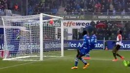 Hráči Zwolle měli smůlu v zakončení