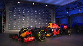 Red Bull představil nový monopost