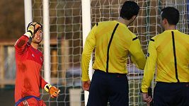 Neuznaný gól mladíků Valencie