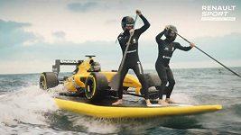 Renault představil novou barevnou kombinaci vozu F1
