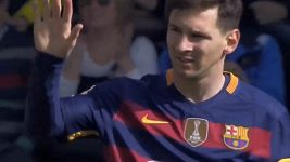 Messi zlomil ruku fanynce
