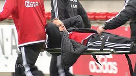 Trenér Ajaxu De Boer si na tréninku přetrhl achilovku