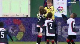 Malý brazilský gólman dal gól