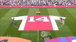 Ajax - poslední rozlučka s Johanem Cruyffem