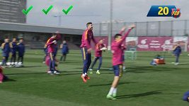 Bago v podání fotbalistů Barcelony