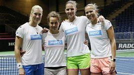 V táboře českého fedcupového týmu panuje dobrá nálada