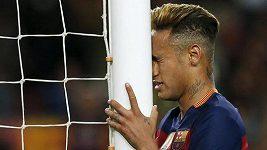 Neymar napadl slavící hráče Valencie