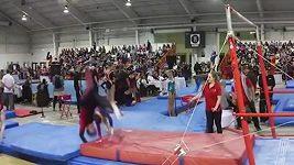 Trenér zachránil mladé gymnastce život