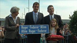 Po Federerovi byla ve švýcarském Bielu pojmenována ulice