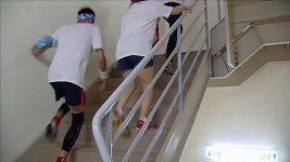 Běžci museli zdolat 2046 schodů