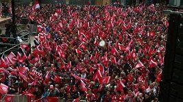 Oslavy Bayernu Mnichov