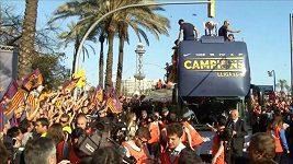 Oslavy Barcelony