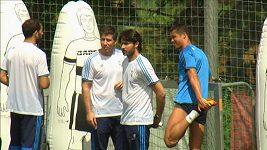 Ronaldo se zranil na tréninku
