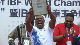 Mike Tyson v Číně