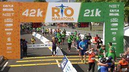 Maratón v Rio de Janeiru
