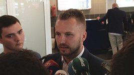 Obránce Michal Kadlec před odletem na EURO do Francie