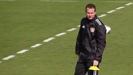 Sascha Lewandowski na záběrech z dubna 2014