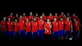 Španělská hymna pro ME