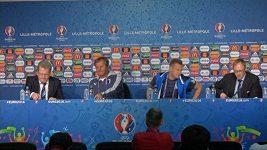 Slováci před zápasem s Ruskem