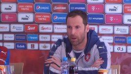 Petr Čech - před zápasem s Chorvatskem