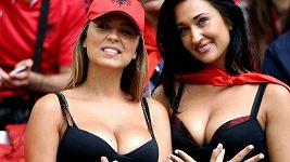 Albánské fanynky na EURO 2016