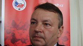 Znovu zvolený předseda Českého svazu ledního hokeje Tomáš Král.