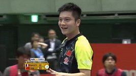 Nevídaný úder čínského favorita na turnaji v Tokiu