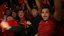 Reakce tureckých a českých fanoušků po úterním duelu