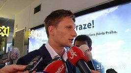 Po návratu z ME mluvil na letišti pouze Milan Škoda