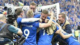 Islandský komentátor slavil postup na ME
