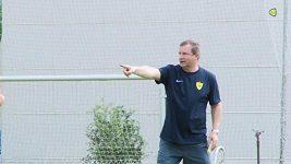 Vrba poprvé trénoval Anži