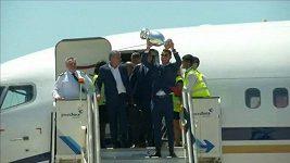 Mistři Evropy se vrátili do Portugalska.