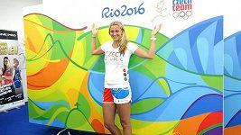 Petra Kvitová před olympiádou v Riu.
