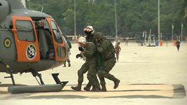 Brazilští vojáci se chystají na OH