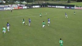 První gól Patrika Schicka za Sampdorii