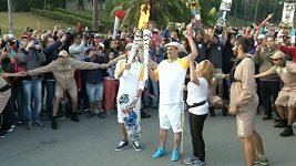 Olympijská pochodeň dorazila i přes protesty do Sao Paula