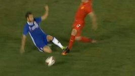 Červená karta pro Fabregase