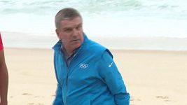 Předseda Mezinárodního olympijského výboru Thomas Bach v Riu