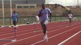 Justin Gatlin se připravuje na olympiádu