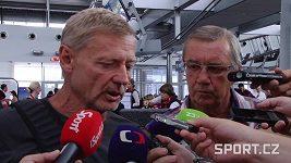 Zdeněk Ščasný před odvetou se Steauou