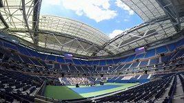 Stadión Arthura Ashe v New Yorku má novou otevírací střechu