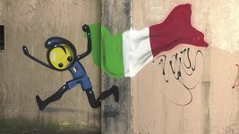 Olympijské graffiti v Riu.