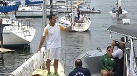 Olympijská pochodeň dorazila do Ria