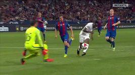 Posila Leicesteru Musa utekla obraně Barcelony