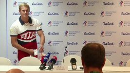 Ruský plavec Vladimír Morozov nakonec startuje na OH.