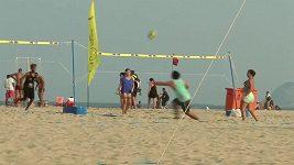 Copacabana, to je plážový volejbal