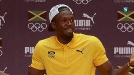 Rodiče hvězdného sprintera Usaina Bolta jsou v Riu